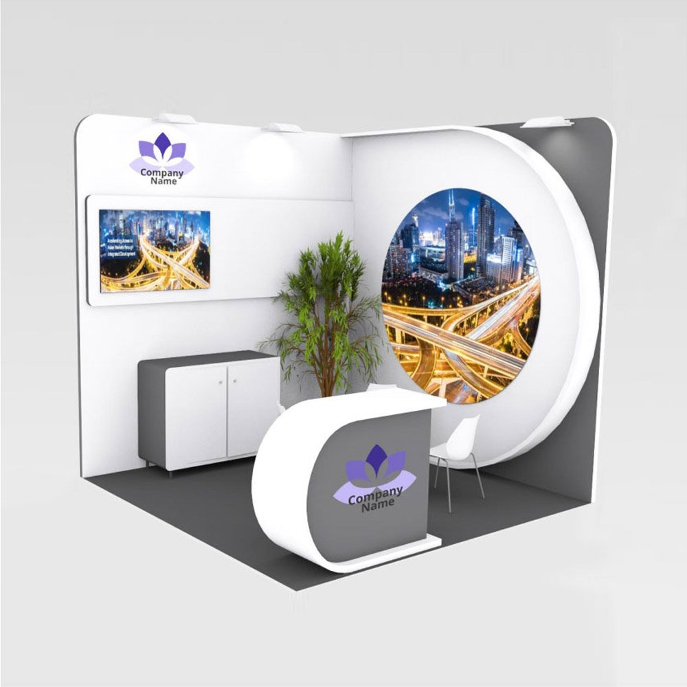 stands de diseño para hoteles