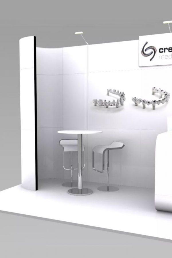 stand de diseño reutilizable