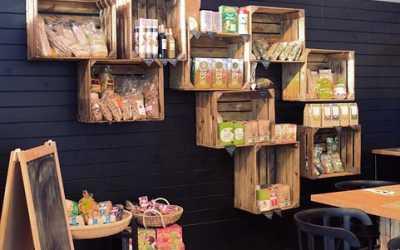 stands madera ecológica