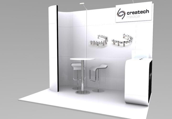 Stand de diseño Createch medical