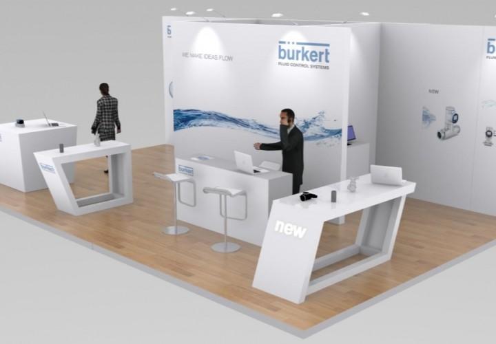 Stand diseño Burkert