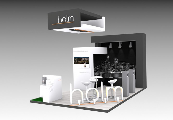 Stand diseño Holm
